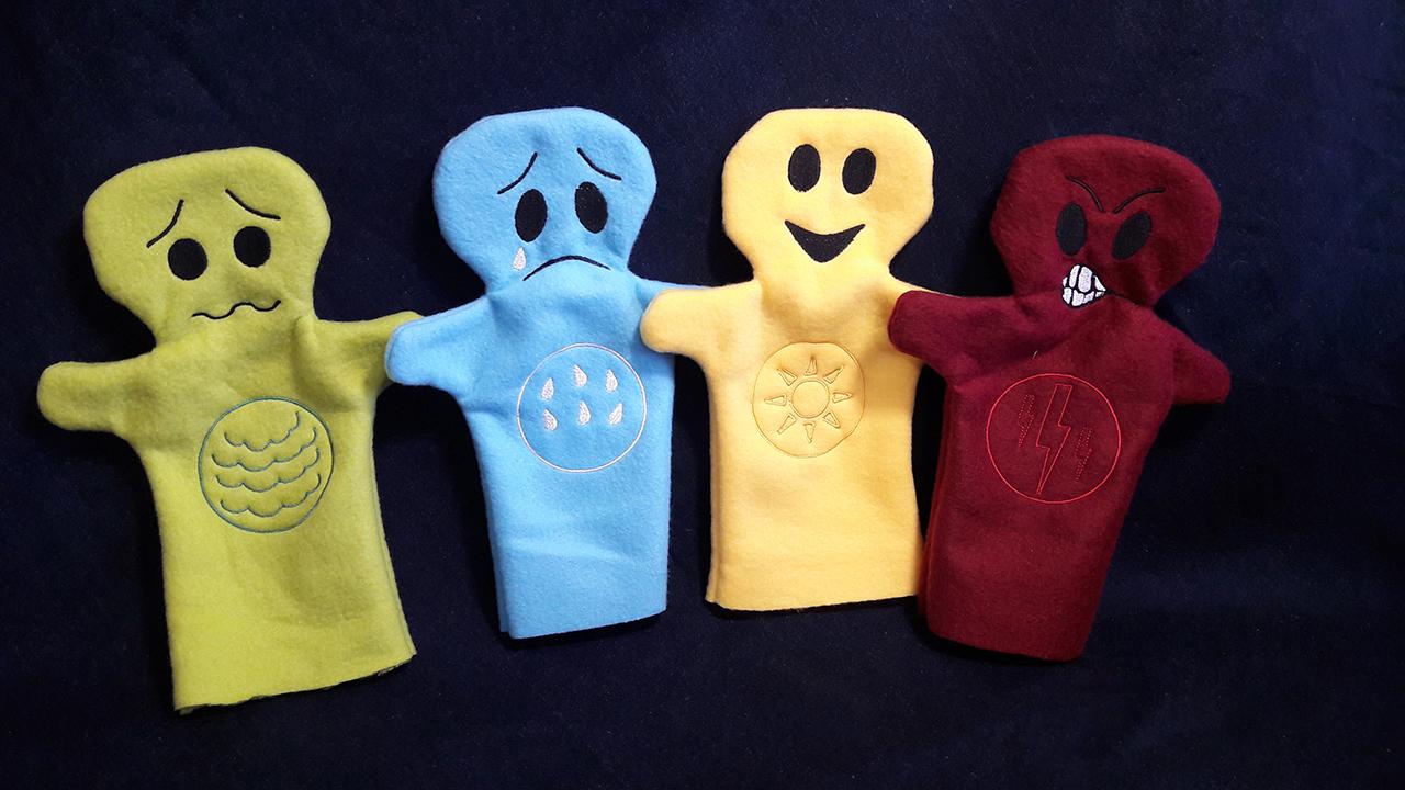"""marionnettes """"émotion"""""""